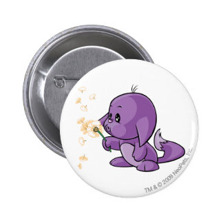 Kacheek Purple 6 Cm Round Badge