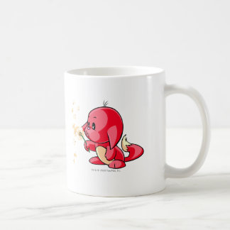 Kacheek Red Basic White Mug