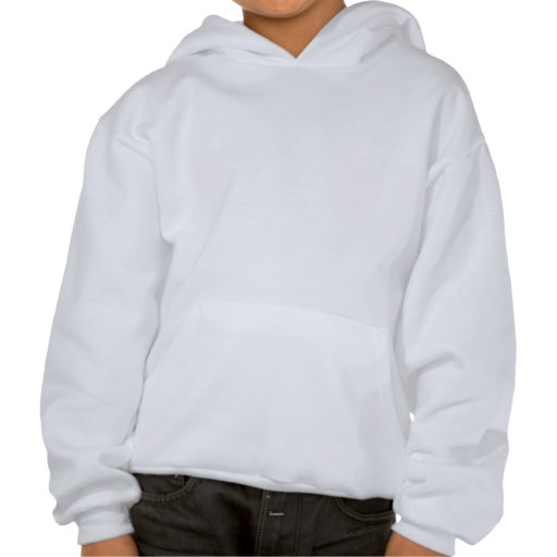Kacheek Red Hooded Sweatshirts
