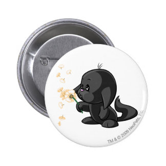 Kacheek Shadow 6 Cm Round Badge