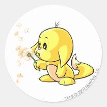 Kacheek Yellow stickers
