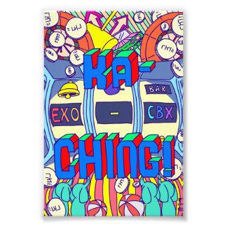 [KaChing] KaChing Exo CBX Fanart Digital Print