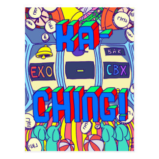 [KaChing] KaChing Exo CBX Fanart Post Card