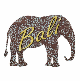 Kade Batik Elephant Magnet Photo Sculpture Magnet