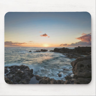 Kaena Point Hike Sunset Mouse Pad