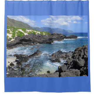 Kaena Point, Oahu, Hawaii Shower Curtain