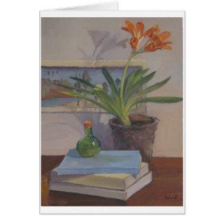 Kaffir Lily - Art Card, Blank