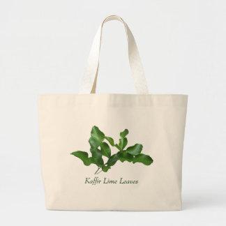 Kaffir Lime Leaves Jumbo Tote Bag