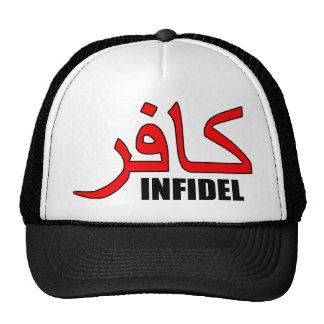 Kafir (in English, Infidel) Flair Cap