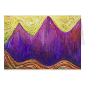 Kafka the Castle (expressionism cityscape) Greeting Card