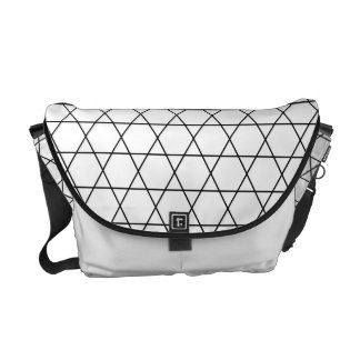 Kagome Japanese Pattern Messenger Bag
