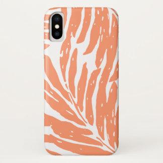 Kahanu Garden Hawaiian Palm Leaves iPhone X Case