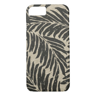 Kahanu Palms Hawaiian Linen Texture iPhone 8/7 Case