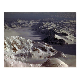 Kahiltna Glacier, as seen from Mt. McKinley, Alask Postcard