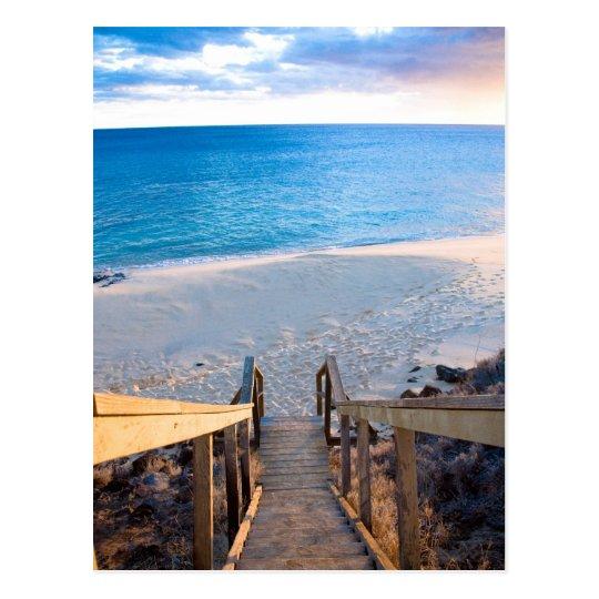 Kaho'olawe Stairs Postcard
