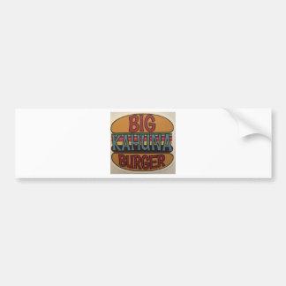Kahuna Burger Bumper Sticker