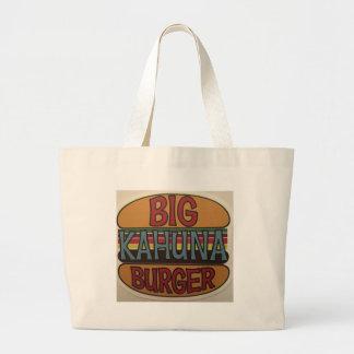 Kahuna Burger Large Tote Bag