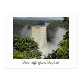 Kaieteur Falls postcard