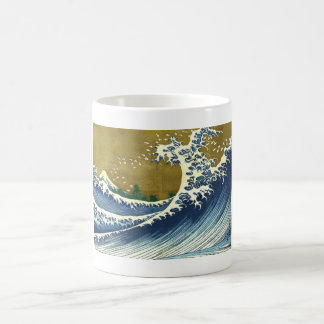 Kaijo no Fuji Hokusai wave Kanagawa masterpiece Basic White Mug