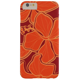 Kailua Hibiscus Hawaiian Oversized Floral Barely There iPhone 6 Plus Case