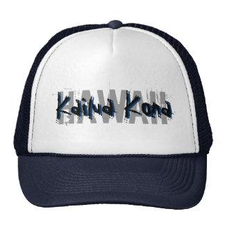 Kailua Kona Hawaii blue hat