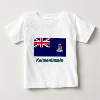 Kaimaninseln Flagge mit Namen Tshirt