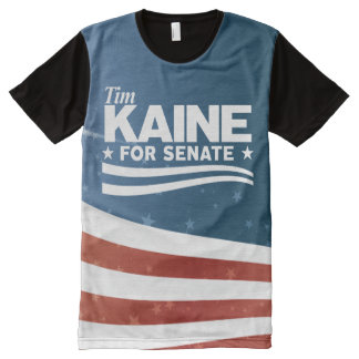 KAINE - Tim Kaine for Senate All-Over Print T-Shirt