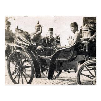 Kaiser and Sultan Postcard