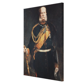 Kaiser Wilhelm I Canvas Print