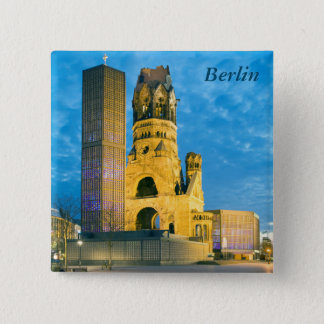 Kaiser Wilhelm Memorial Church, Berlin 15 Cm Square Badge