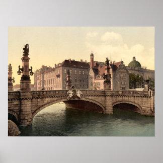 Kaiser Wilhelms Bridge Berlin archival print