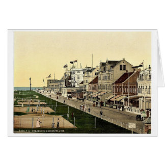 Kaiserstrasse, Norderney, Germany magnificent Phot Card