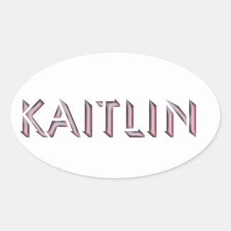 Kaitlin sticker name