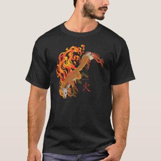 Kaius the Fox, Guardian of Fire Men's Dark T-Shirt