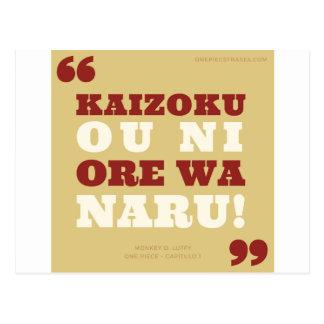 Kaizoku oni prays wa naru! - One Piece Postcard
