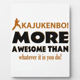 KAJUKENBO! DESIGN PLAQUE