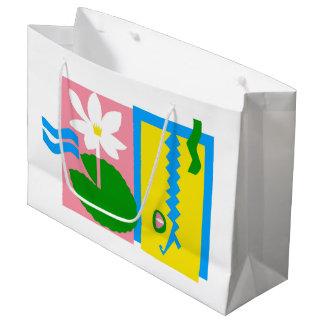 Kakadu - Large glossy gift bag