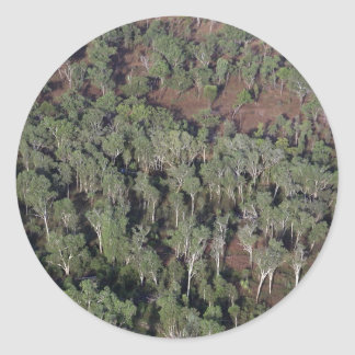 Kakadu National Park aerial view Round Sticker