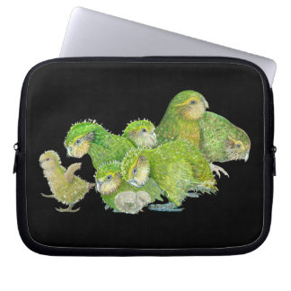 Kakapo Chicks Laptop Sleeve