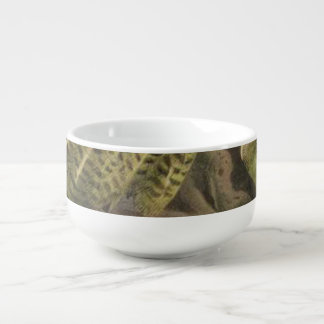 Kakapo Semi-Abstract Soup Mug