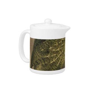 Kakapo Semi-Abstract Teapot