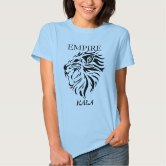 Kala (Tiger) Ladies Baby Doll (Fitted) T-shirts