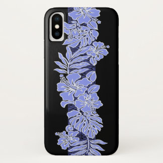 Kalaheo Hawaiian Hibiscus Tapa iPhone X Case
