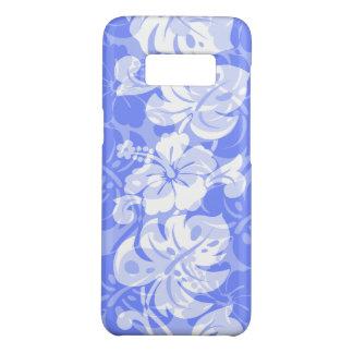 Kalakaua Border Hawaiian Hibiscus Periwinkle Case-Mate Samsung Galaxy S8 Case