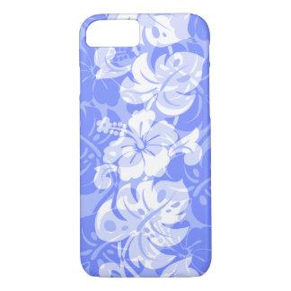 Kalakaua Border Hawaiian Hibiscus Periwinkle iPhone 8/7 Case