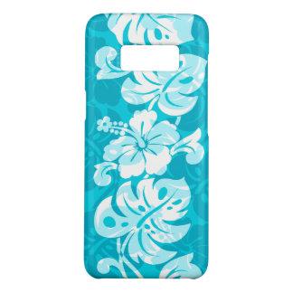 Kalakaua Border Hawaiian Hibiscus Turq Case-Mate Samsung Galaxy S8 Case