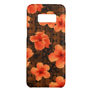 Kalalau Tapa Tropical Hawaiian Hibiscus Case-Mate Samsung Galaxy S8 Case