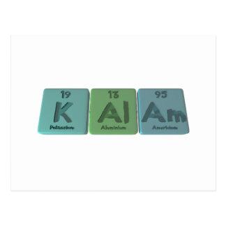 Kalam-K-Al-Am-Potassium-Aluminium-Americium.png Postcard