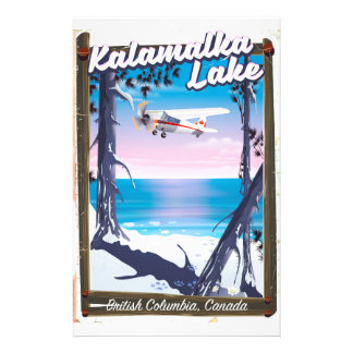 kalamalka lake, British Columbia Canada Stationery
