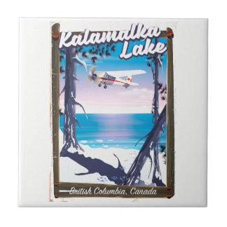 kalamalka lake, British Columbia Canada Tile